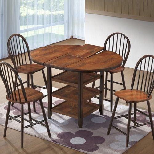 CT 4260-V Bar Table & Windsor Bar Chair
