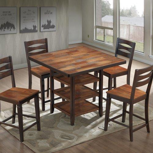 CT 3358 Bar Table & Emerald Bar Chair