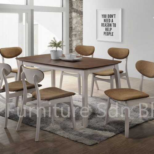 DT8600 Sephora Dining Table & DC8250 Loaded Dining Chair