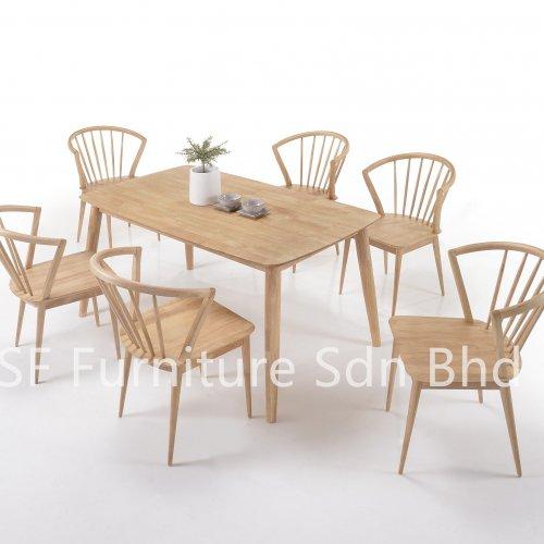 DT8500 Pavilion Dining Table & DC8575-1 Pavilion Dining Chair