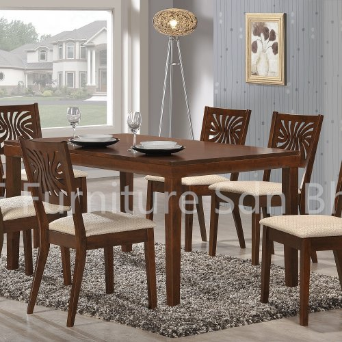 DT8558 Mola Dining Table & DC9228 Roford Dining Chair