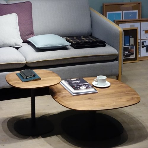 Stamp Coffee Table & Stamp End Table