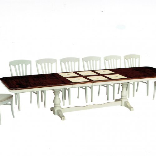 CT 3344 TRIPLE EXTENSION BUTTERFLY TABLE