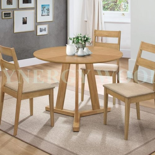 ARCADIA ROUND TABLE & DINING CHAIR