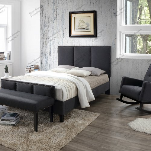 BBT 6669 - Bed & BBT 5312 - Bench & BBT 5308 - Rocking Chair