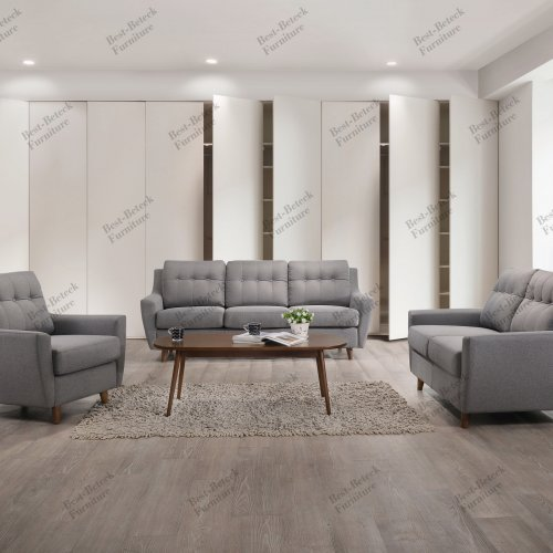BBT 8022 1+2+3 Seater sofa & BBT 4053 Coffee Table