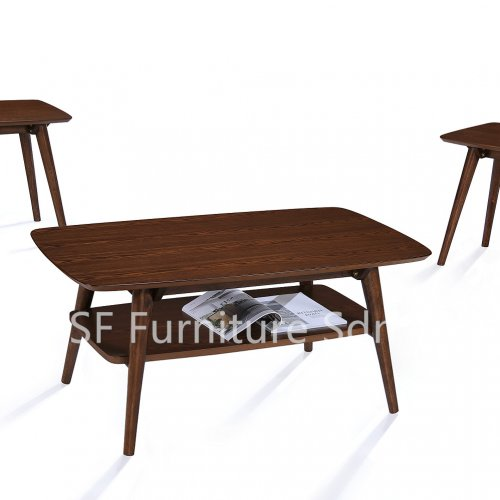 CT7676 Rutelli Coffee Table & ET7676 Rutelli End Table