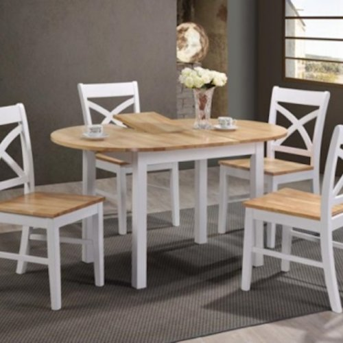 GS3027 Dining Set (1+4 Extension Table )