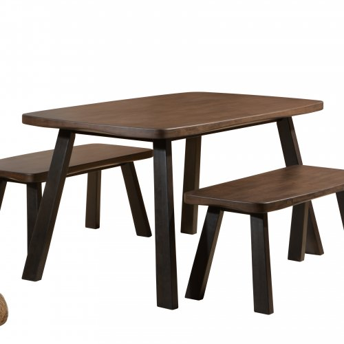 Bowmore Dining Set (Bench)