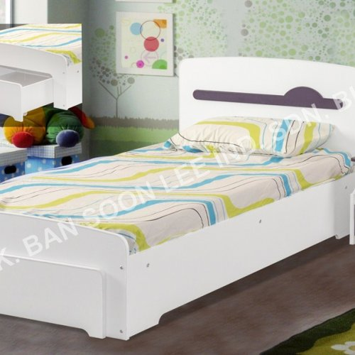 SINGLE BED C/W BED SIDE TABLE