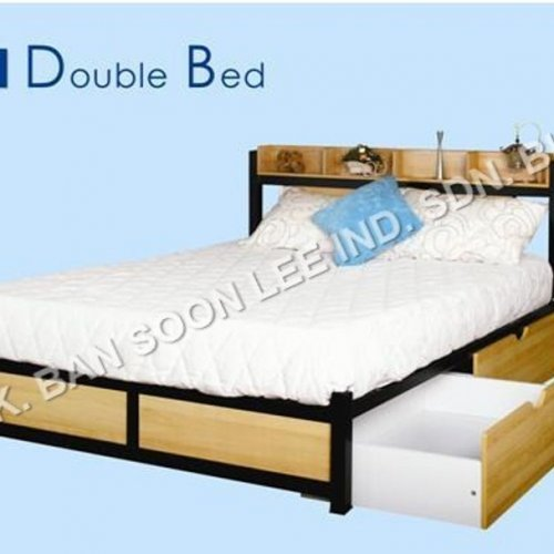DOUBLE BED WITH DRAWERS