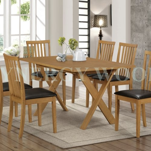 CORONA DINING TABLE + DINING CHAIR