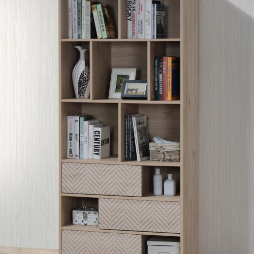 BC 1780-05 CANBERRA LIVING BOOKCASE