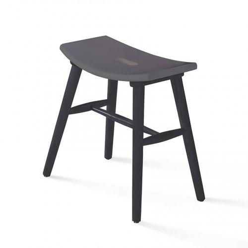 95007 low stool (black)