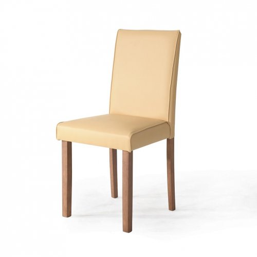 Chair (Caramel, Cream, Red and Sky Blue PU)