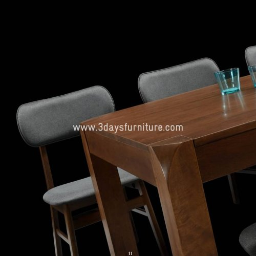 3D-Larson Dining Set(1+4+Bench)