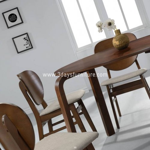 3D-Napoleon Dining Set(1+6)