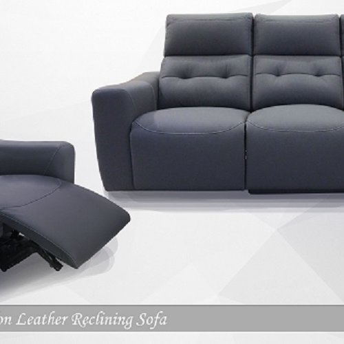 Avalon Electric Recliner Mircofibre Leather Sofa