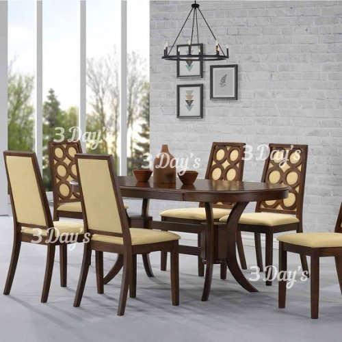 3D- Oscar Dining Set (1+6)
