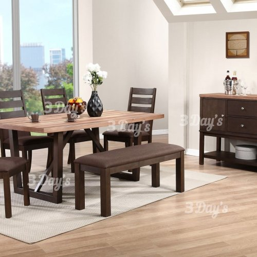 3D- Torrie Dining Set (1+4+Bench)