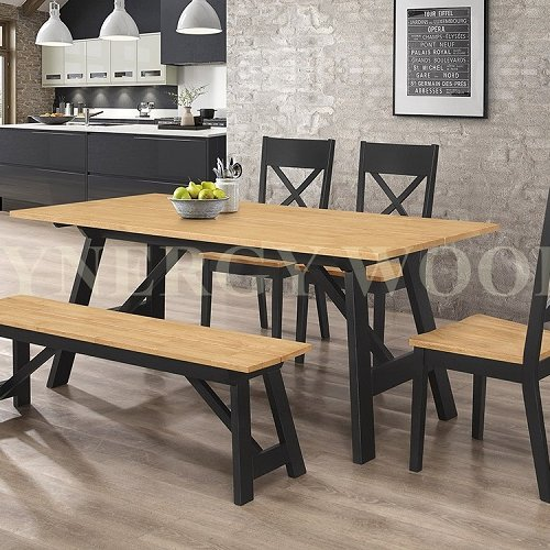 NEWPORT TABLE + DINING CHAIR + BENCH