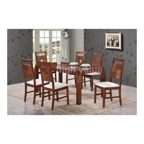 HV 3162 Dining Set (1+6)