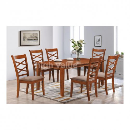 HV 3166 Dining Set (1+6)