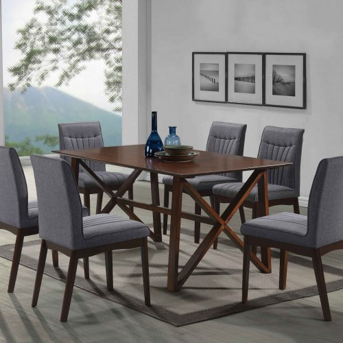 ANTON TABLE + TIFFANY CHAIR 1+6 DINING SET