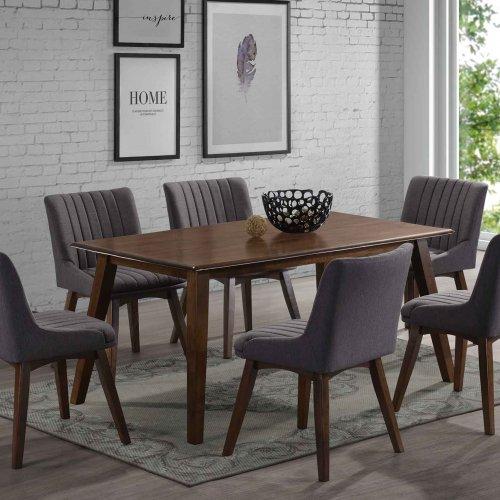 HARMONY TABLE + NICOLE CHAIR 1+6 DINING SET