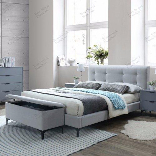 BBT 6780.11 A1 - Bed & BBT 3166 - NIght Stand & BBT 3159 A1 - Night Stand & BBT 1057 - Tall Boy