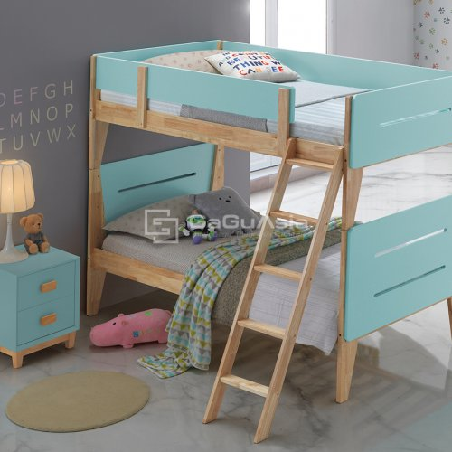 Tiffany Blue Bunk Bed