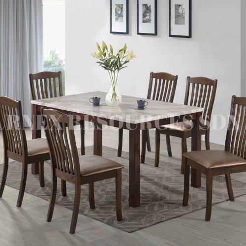 SKY TABLE + TAIPEI CHAIR 1+6 DINING SET