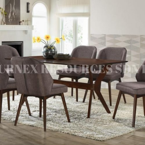 NETTY TABLE + GALAXY CHAIR 1+6 DINING SET
