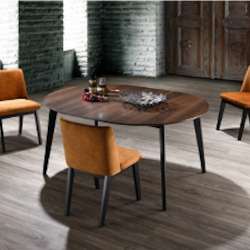 Take off leaf table HG7006DT and chair HG2013DC